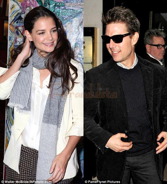 Tom Cruise deja la Scientologia para recuperar a Katie y a Suri?