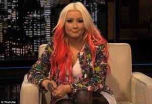 Christina Aguilera no le gusta usar ropa interior