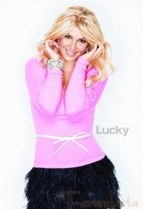 Britney Spears en Lucky Magazine - Diciembre 2012