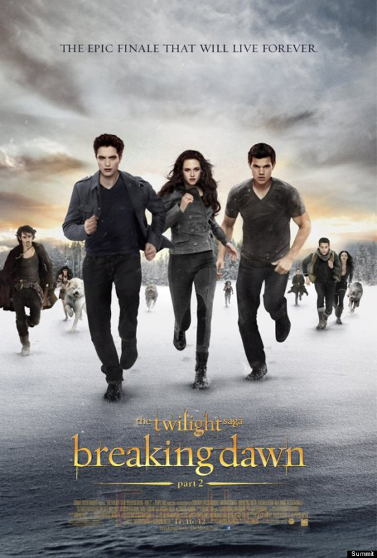 El poster final de Breaking Dawn Part 2 ya está aquí