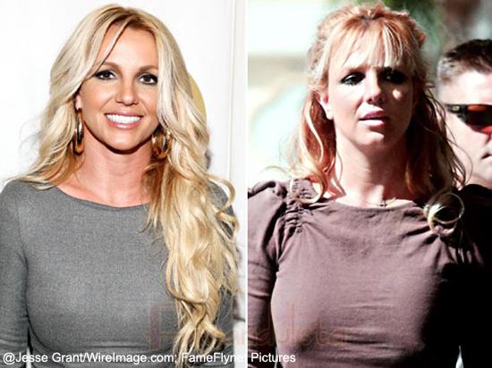 Britney Spears tiene nuevo hairstyle! Flequillo!