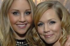 Amanda Bynes no habla con Jennie Garth