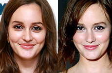 Leighton Meester cortó su cabello!! New Look!