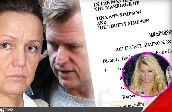 Los padres de Jessica Simpson se divorcian