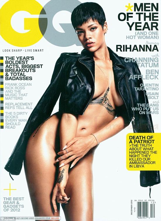 Rihanna en GQ magazine