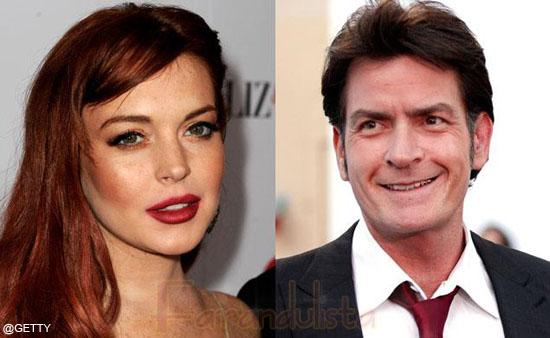 Charlie Sheen le paga los impuestos a Lindsay Lohan?