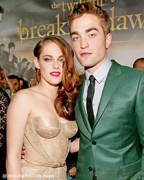 Kristen Stewart & Robert Pattinson en la Premier de Breaking Dawn Part 2