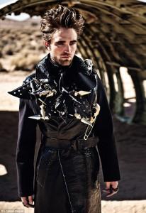 Robert Pattinson en L'Uomo Vogue