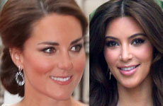 Kate Middleton regresa la ropa de la Kardashian Kollection
