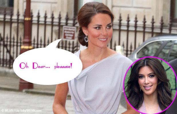 Kate Middleton regresa la ropa de la Kardashian Kollection