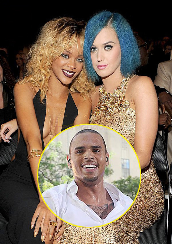 Katy Perry & Rihanna separadas por Chris Brown?