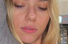 Scarlett Johansson se tatuó una herradura — fug!