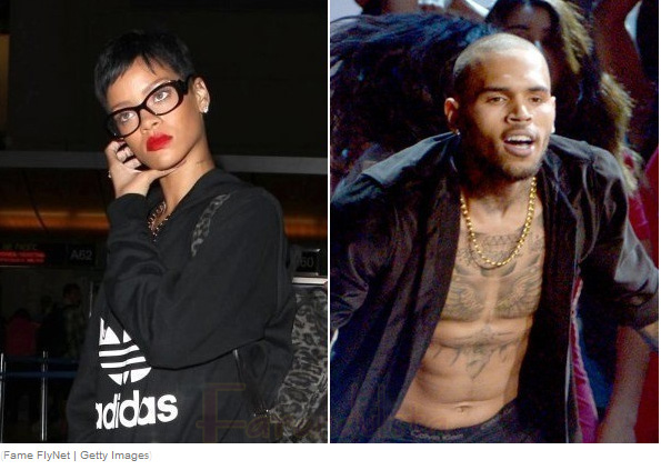 Chris Brown engañando a Rihanna?