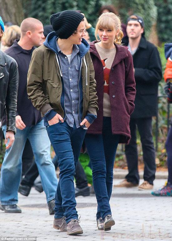 Harry Styles y Taylor Swift la nueva parejita de Hollywood!!