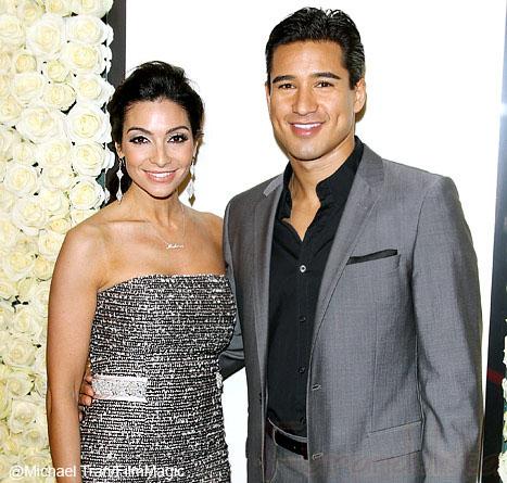 Mario Lopez y Courtney Mazza se casaron!