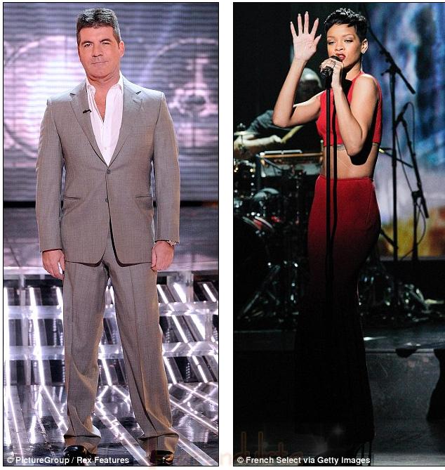 Simon Cowell quiere a Rihanna en The X Factor?