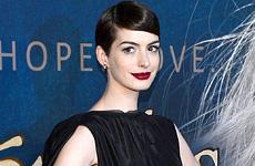 Anne Hathaway en la Premier de Les Miserables en NYC