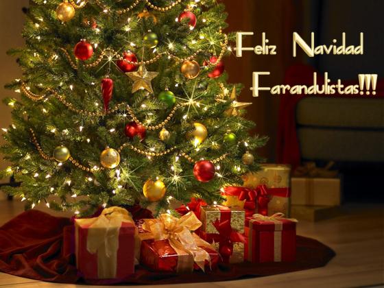 Feliz Navidad 2012 Farandulistas!! Merry Christmas!!