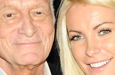 Hugh Hefner y Crystal Harris se casan… again?