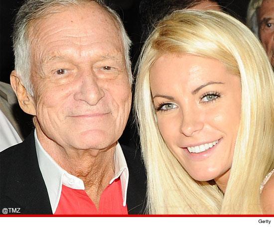 Hugh Hefner y Crystal Harris se casan... again?