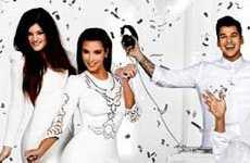 Guess What? La tarjeta navideña de las Kardashians es FAKE!