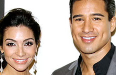 Mario Lopez y Courtney Mazza se casaron!