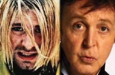 Sir Paul MacCartney reemplazó a Kurt Cobain por una noche?