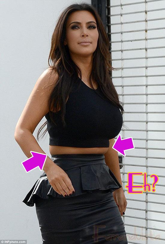 Kim Kardashian está en negación