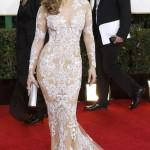 Jennifer Lopez vestida con un Zuhair Murad