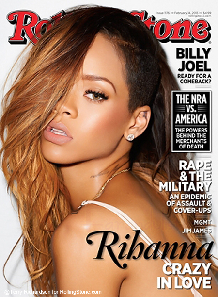 Rihanna Crazy in Love - Rolling Stone Magazine