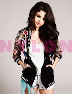 Selena Gomez en Nylon magazine - 'Spring Breakers' Trailer