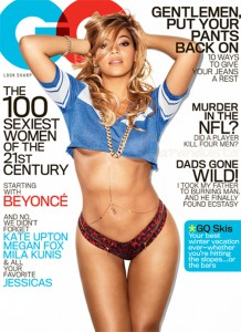 Beyonce en GQ - The 100 Sexiest Women of the 21st Century!