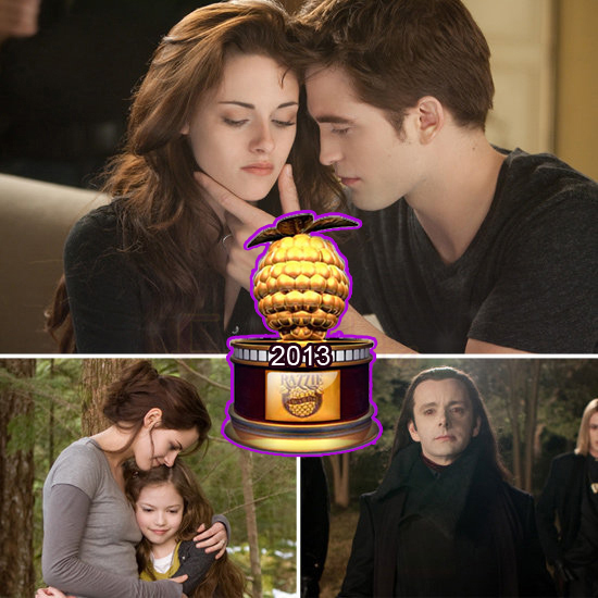 Twilight Breaking Dawn 2 domina los Razzie Awards 2013