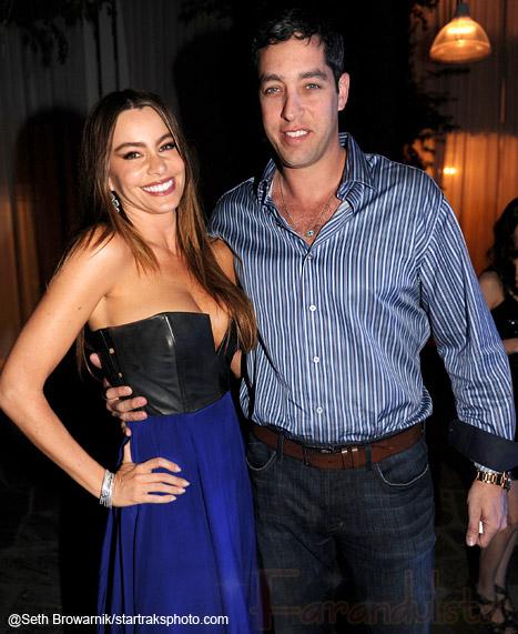 Sofia Vergara y su prometido en una pelea en un club de Miami??