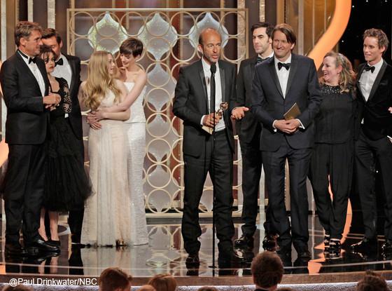 Ganadores de los Golden Globes 2013