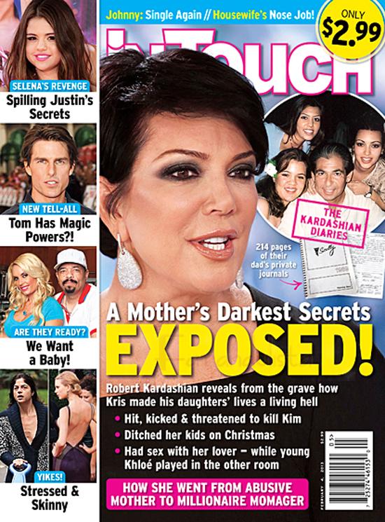 Los secretos de la niñez de Kim, Kourtney y Khloe son revelados! - InTouch