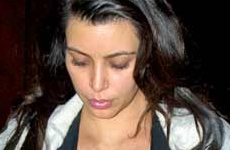 Kim Kardashian y su baby bump