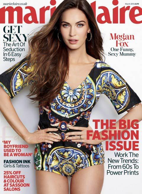 La nueva carrera de Megan Fox: La Maternidad
