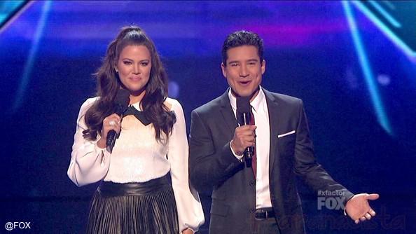 Khloe Kardashian despedida de The X Factor