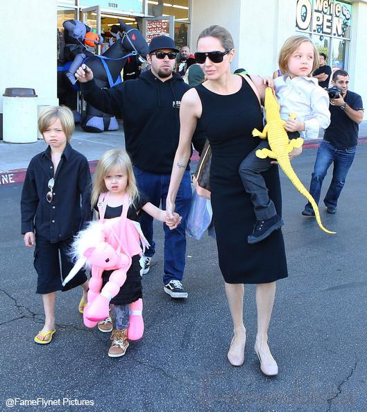 La hija de Angelina - Vivienne Jolie-Pitt obtiene gran pago por primer film