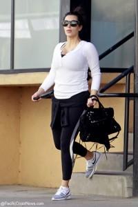 Kim Kardashian histérica por aumento de peso en el embarazo