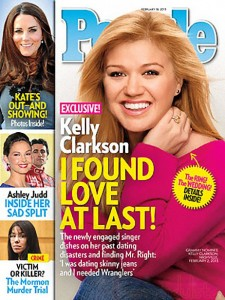 Kelly Clarkson ya tiene vestido de novia!!
