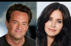 Matthew Perry y Courteney Cox reunidos en 'Go On'