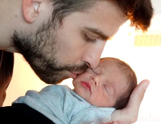 Awww...Vean al hijo de Shakira y Pique, Milan