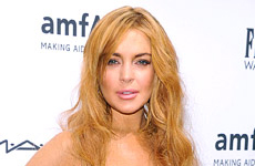 Lindsay Lohan devuelve vestido destrozado