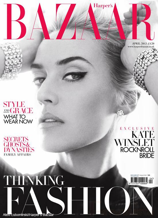 Kate Winslet en Harper's Bazaar UK - Stunning!!