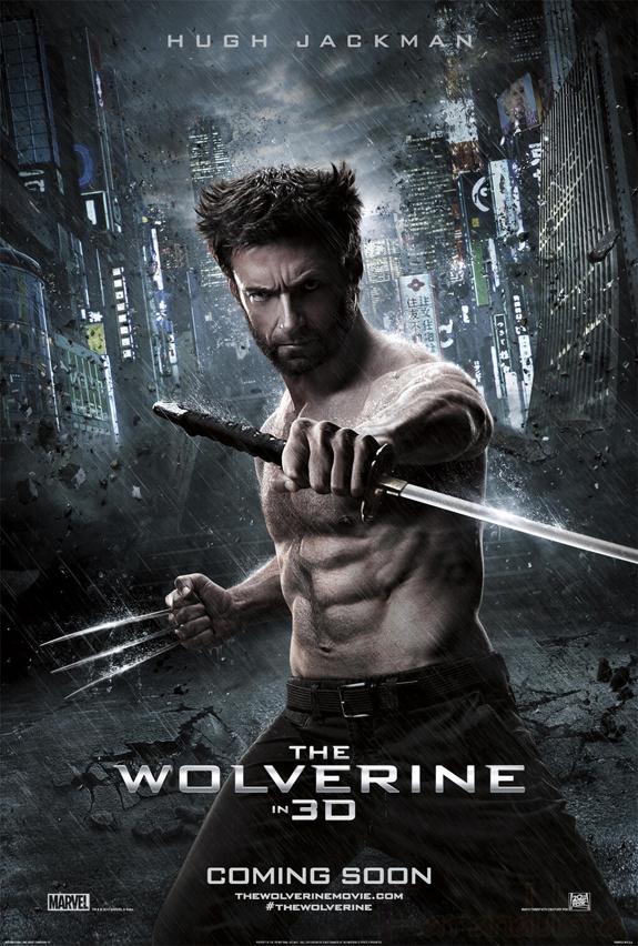 Vean los tres nuevos posters de Wolverine!!