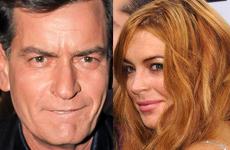 Charlie Sheen quiere ayudar a Lindsay Lohan