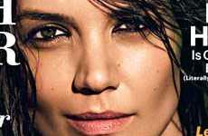 Katie Holmes en Allure magazine