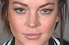 El nuevo mugshot de Lindsay Lohan